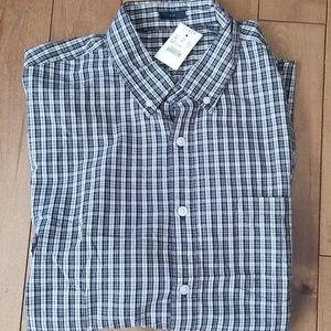J.Crew mens plaid button down shirt NWT